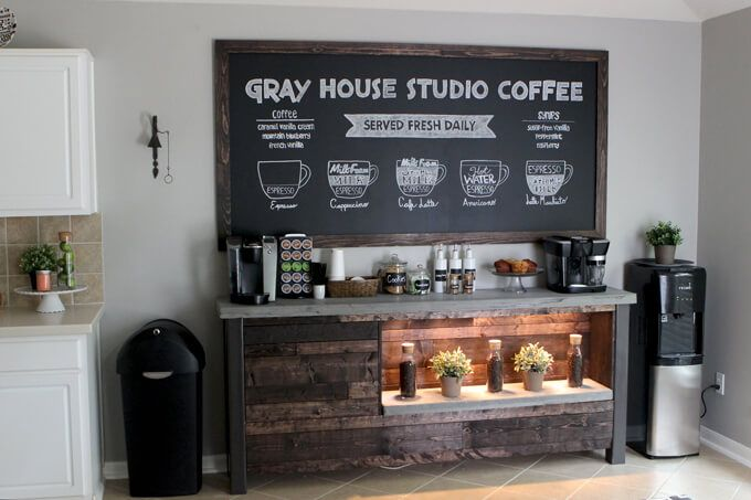 Setting up a Coffee Station in Your Studio